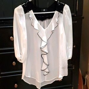 iZ Byer Ruffle Shirt